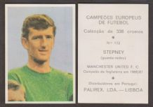 Manchester United Alex Stepney England